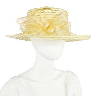 Scala Cryn Braid With Bow Fthr Derby Hat