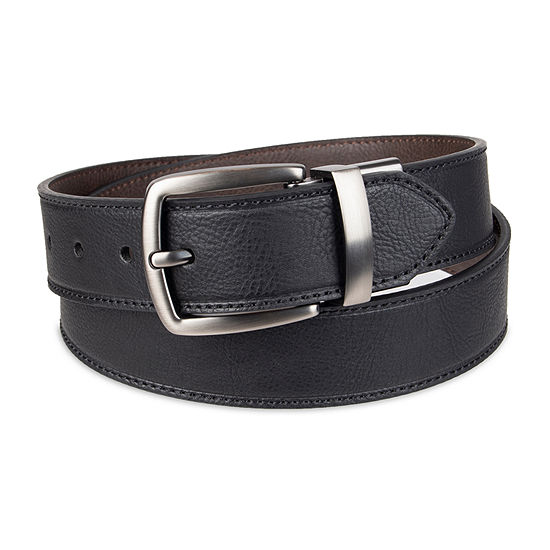 Columbia™ Leather Reversible Men's Belt with Single Stictch
