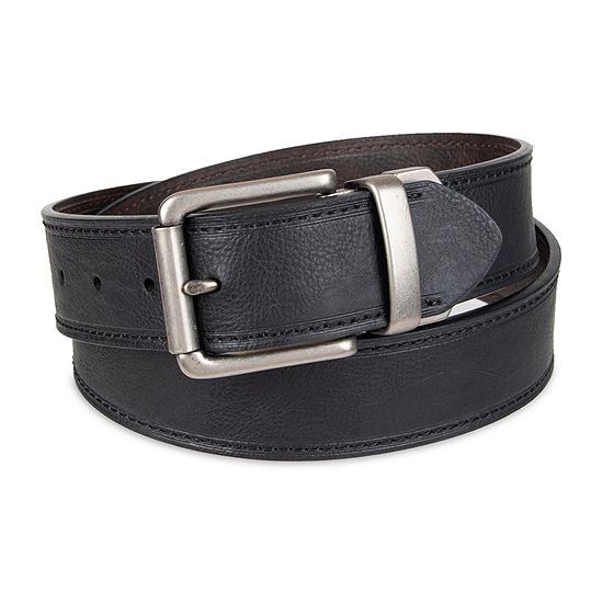 Levis Reversible Casual Stitch Mens Belt With Roller Buckle