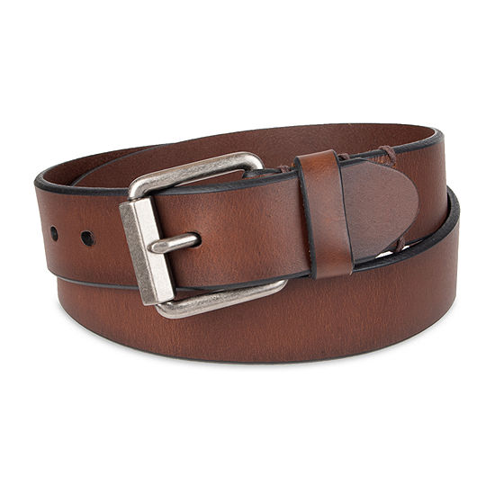 Levi's® Leather Casual Men's Belt with Roller Buckle
