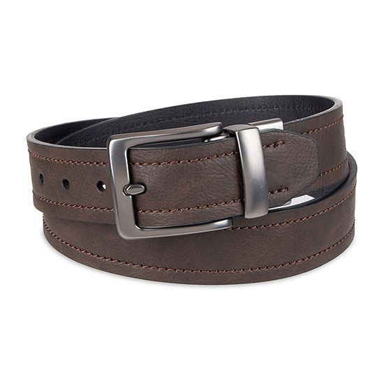 Columbia™ Leather Reversible Men's Belt with Logo Buckle