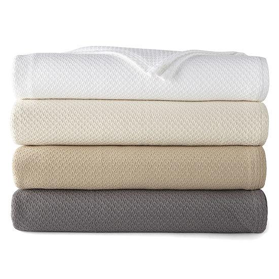 JCP Home Luxury Cotton Blanket