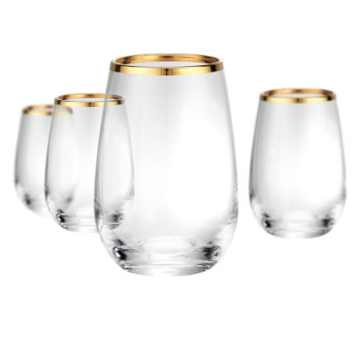 Artland Gold Band 4-pc. Wine Glass