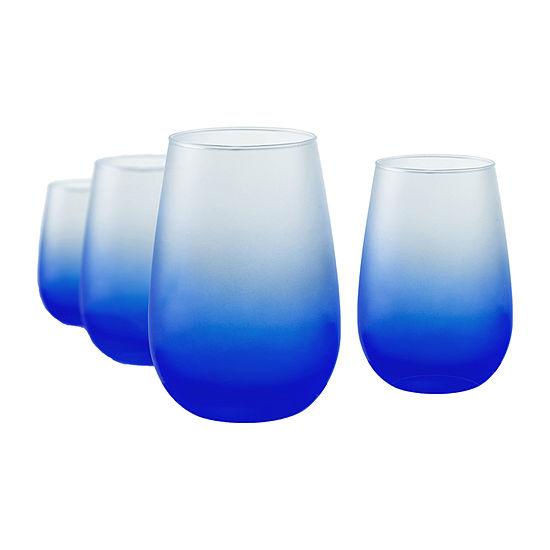Artland Frost Shadow 4-pc. Wine Glass