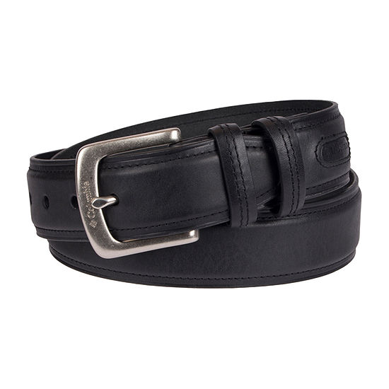 Columbia™ Leather Casual Men's Belt with Double Keeper