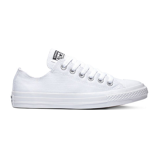 Converse Ox Frayed Lines Womens Lace-up Sneakers