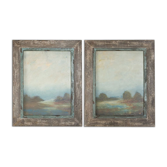 Set Of 2 Morning Vistas Wall Art