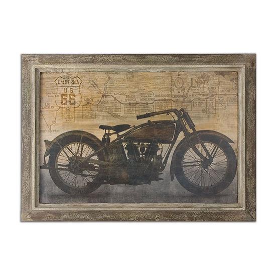 Ride Framed Wall Art