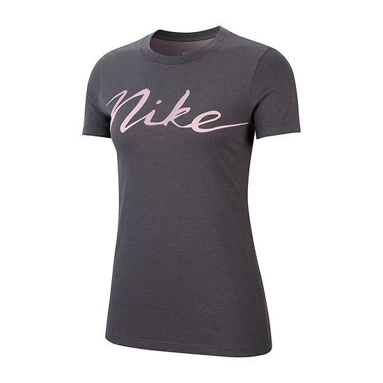 Nike Crew Script Tee Womens
