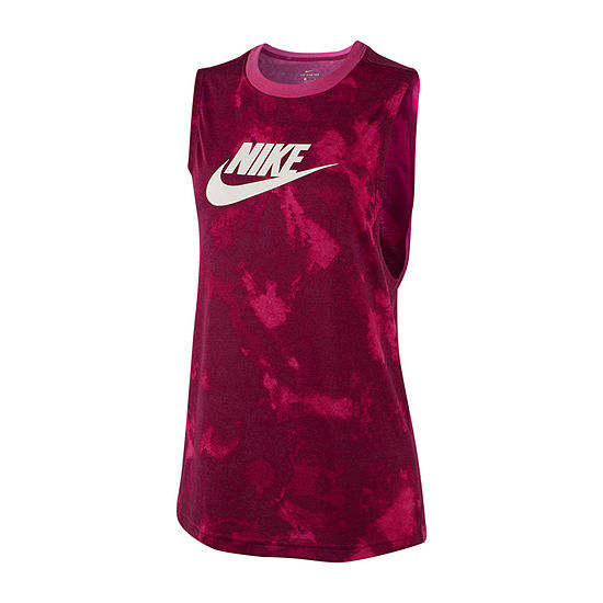 Nike Futura Prep Tank Womens Crew Neck Sleeveless Tank Top