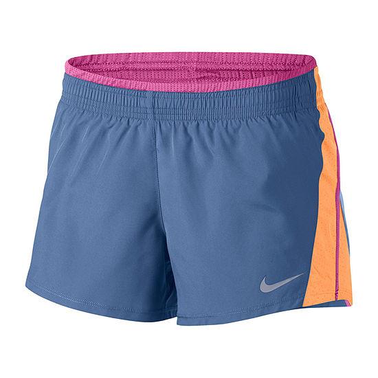 "Nike 10k Short Womens Mid Rise 4"" Running Short"