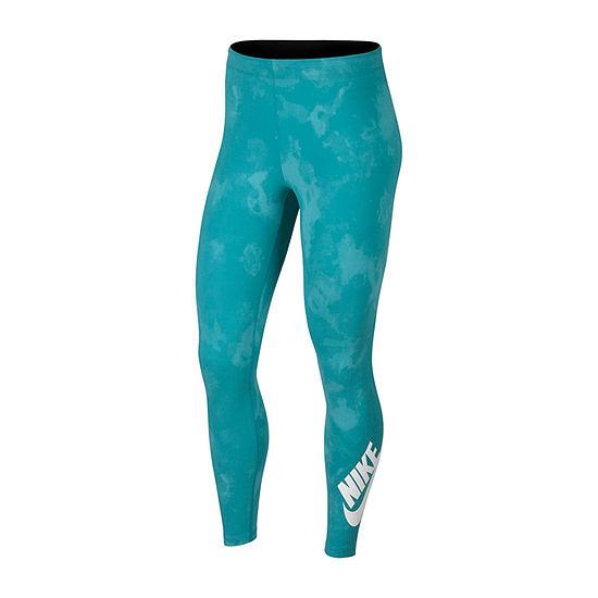 Nike Tie Dye Future 7/8 Womens Mid Rise Legging
