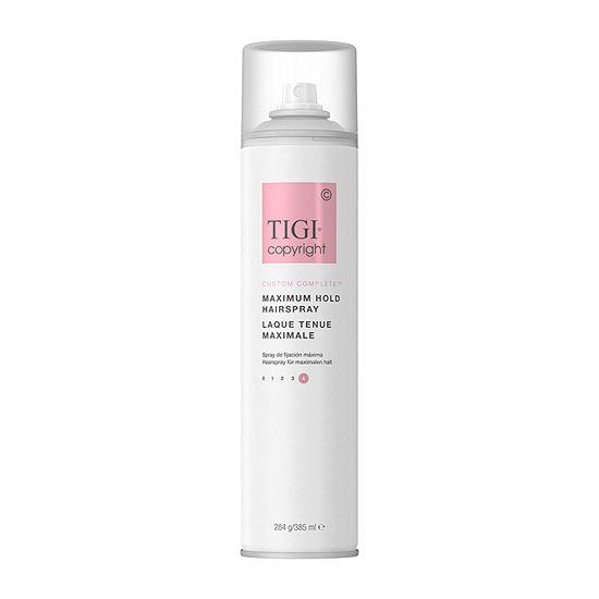 Tigi Copyright Maximum Hold 10.6 Oz Hair Spray-10.6 oz.