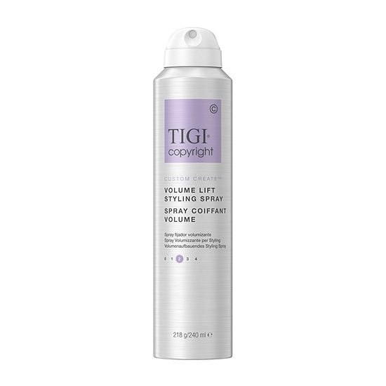 Tigi Copyright Volume Lift Styling 8 Oz Medium Hold Hair Spray-8 oz.