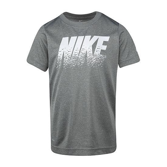 Nike-Toddler Boys Dri-Fit Round Neck Short Sleeve Graphic T-Shirt