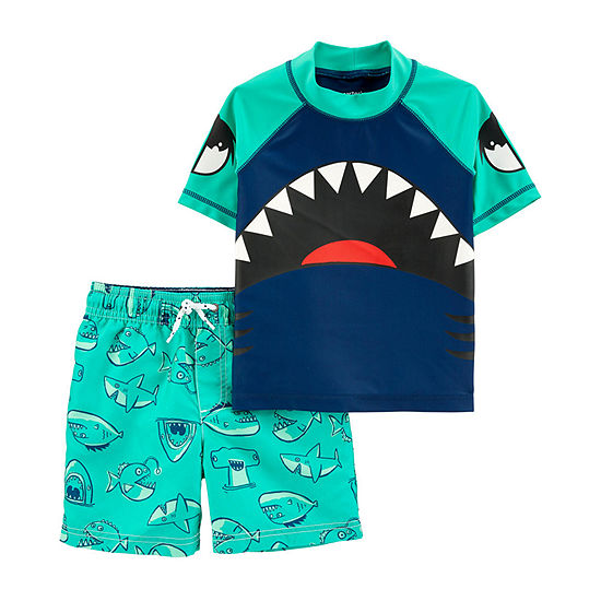 Carter's - Toddler Rash Guard Set