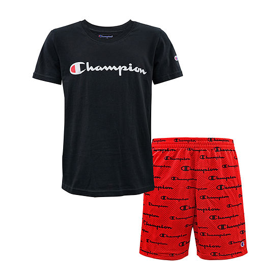 Champion Little Kid Boys 2-pc. Short Set
