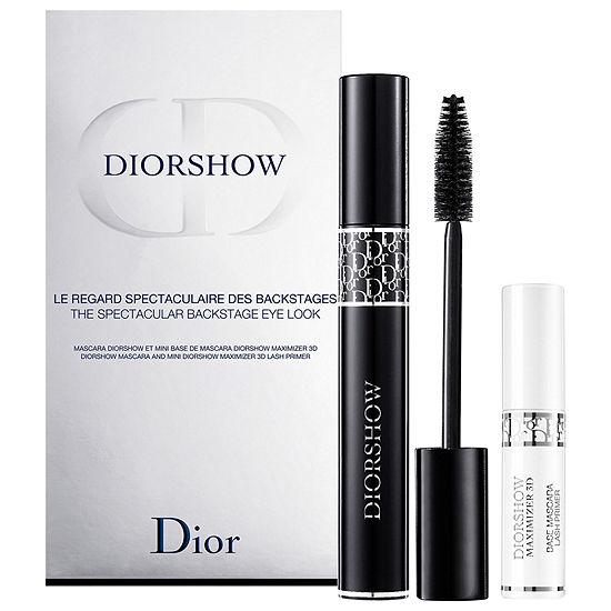 Dior Diorshow and Lash Maximizer Mascara Set