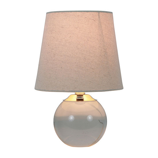 Decor Therapy Cassidy Crystal And Metal Crystal Table Lamp