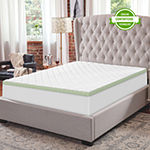 "SensorPedic Cooling Quilted 3"" Memory Foam Topper"