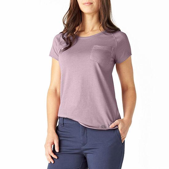 Dickies Performance-Womens Crew Neck Short Sleeve T-Shirt