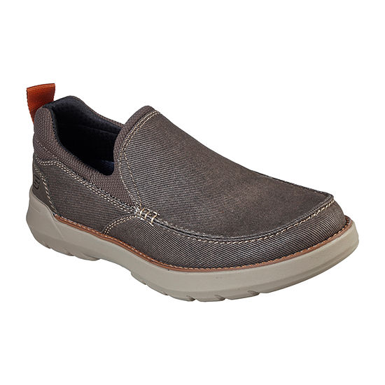 Skechers Mens Doveno Hangout Closed Toe Slip-On Shoe
