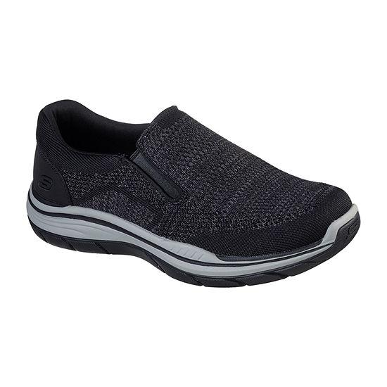 Skechers Mens Expected 2.0 - Arago Closed Toe Slip-On Shoe
