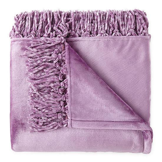 Home Expressions Velvet Plush Plush Throw
