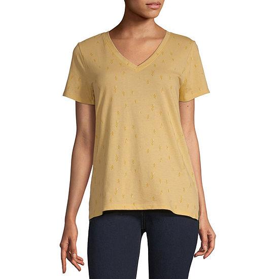a.n.a-Tall Womens V-Neck T-Shirt