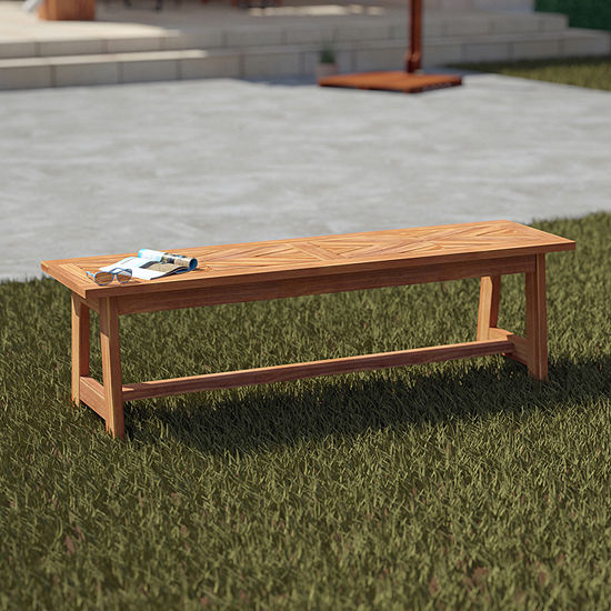 Southern Enterprises Tishby Collection Patio Bench