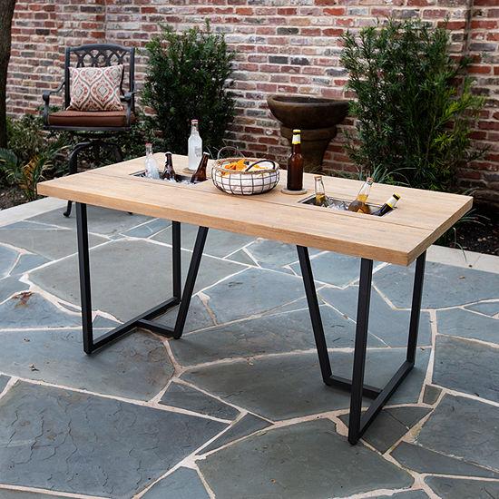 Southern Enterprises Kindamo Collection Patio Dining Table