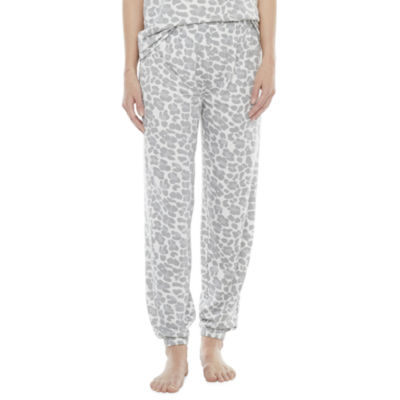 Jaclyn Womens Knit Pajama Pants