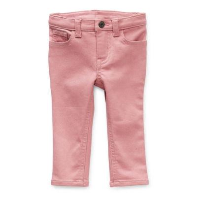 Okie Dokie Baby Girls Skinny Pull-On Pants
