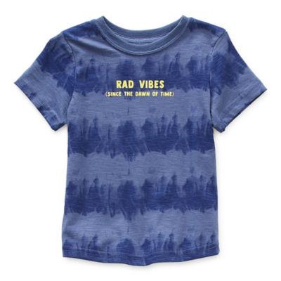 Okie Dokie Toddler Boys Crew Neck Short Sleeve T-Shirt