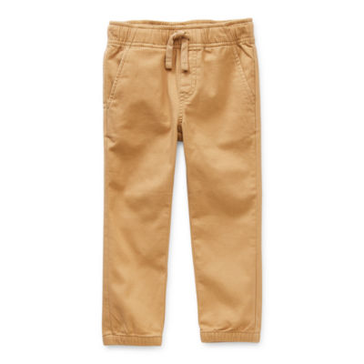 Okie Dokie Toddler Boys Cuffed Pull-On Pants
