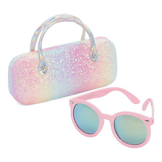 Capelli of N.Y. Round Full Frame Sunglasses Girls