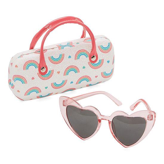 Capelli of N.Y. Heart Full Frame Sunglasses Girls