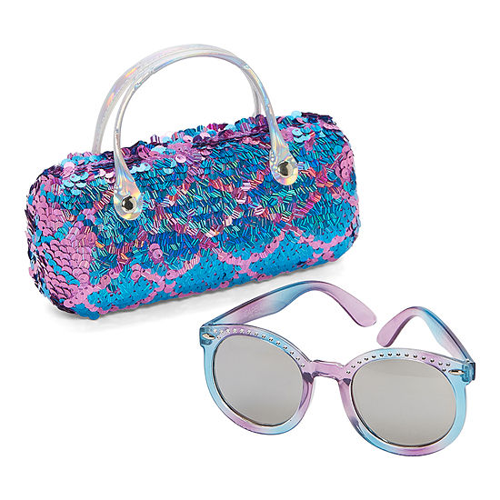 Capelli of N.Y. Round Full Frame Sunglasses Girls