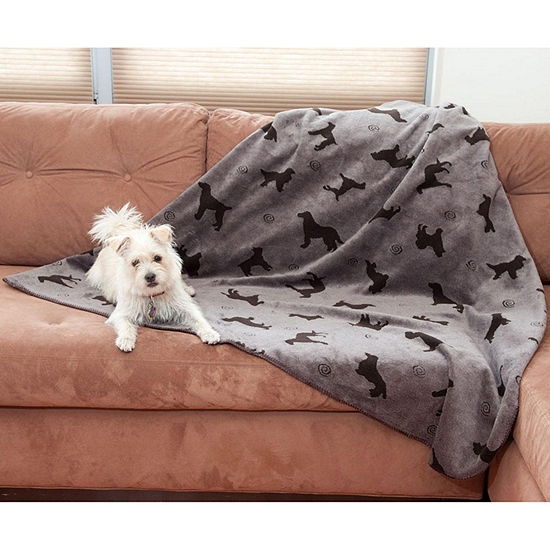 Carolina Pet Co.Plush Embossed Pet Throw