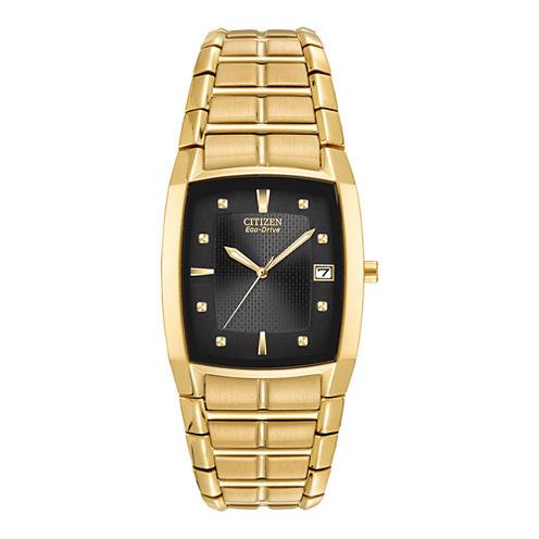 Citizen® Eco-Drive® Mens Gold-Tone Watch BM6552-52E