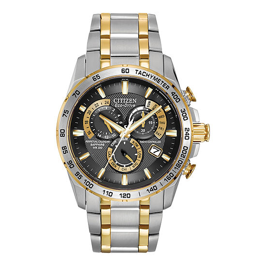 Citizen Eco Drive Mens Perpetual Calendar Watch AT4004 52E JCPenney a1836ddd6