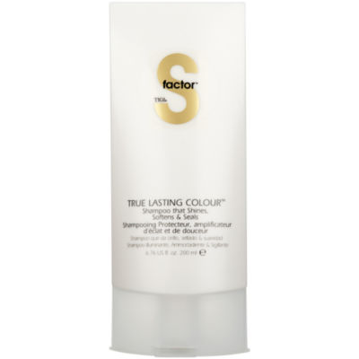 S Factor™ by TIGI® True Lasting Colour Shampoo - 6.76 oz.