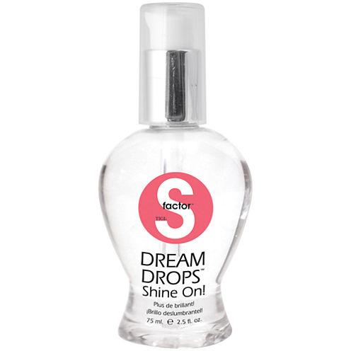 S Factor™ by TIGI® Dream Drops Shine On! - 2.53 oz.