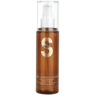 S Factor™ by TIGI® True Lasting Colour™ Hair Oil - 3.4 oz.
