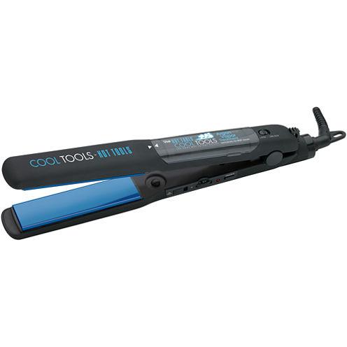 "Hot Tools® Conditioning Vapor 1.25"" Flat Iron + Mini Vapor Treatment"
