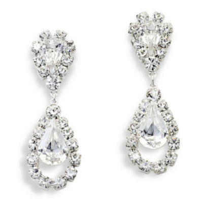 Vieste® Rhinestone Drop Earrings