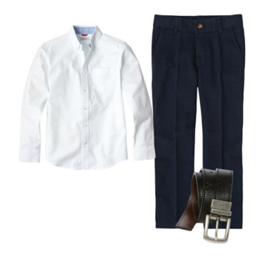 jcpenney.com | IZOD® Oxford Shirt or Flat Front Pants - Preschool Boys 4-7 and Slim