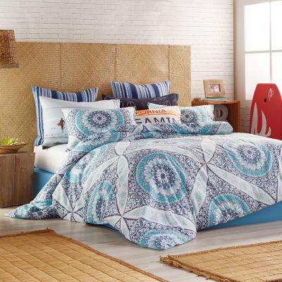 Hang Ten Surfboard Medallion Comforter and Sham Set