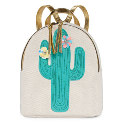 T-Shirt & Jeans Canvas Cactus Backpack