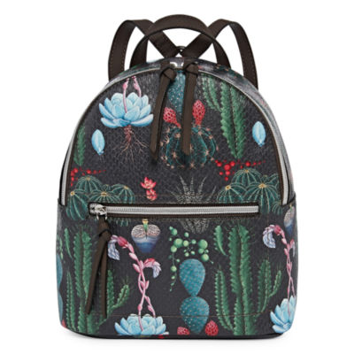T-Shirt & Jeans Cactus Print Backpack